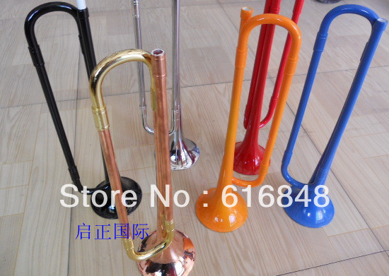 Wholesale childrens plastic rubber trumpet A variety of color can choose<br><br>Aliexpress