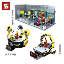 SY303/304/305 Super Hero Iron man Building Blocks Iron man dismantle machine Action Figure Compatible With Lego