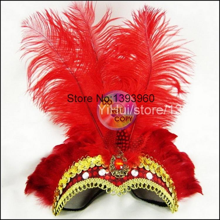 feather Novelty Indian birthday Feather Headdress Elastic Sequin Head Band Hoop de festa Halloween wedding souvenirs Party Dance(China (Mainland))