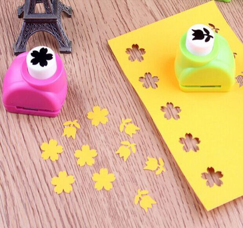 1 PCS hot Mini Child Kid decoration Printing paper craft Hand Shaper scrapbooking tags Cards DIY Punch Cutter Tool(China (Mainland))