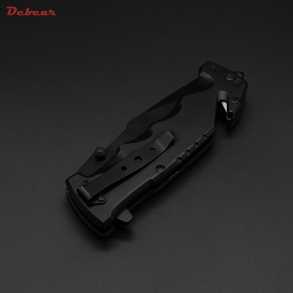 Buy Dcbear High Quality New DA75 Tactical Knife 440C Steel Blade Best Folding Knives Outdoor Tops Knife EDC Pocket Tool cheap