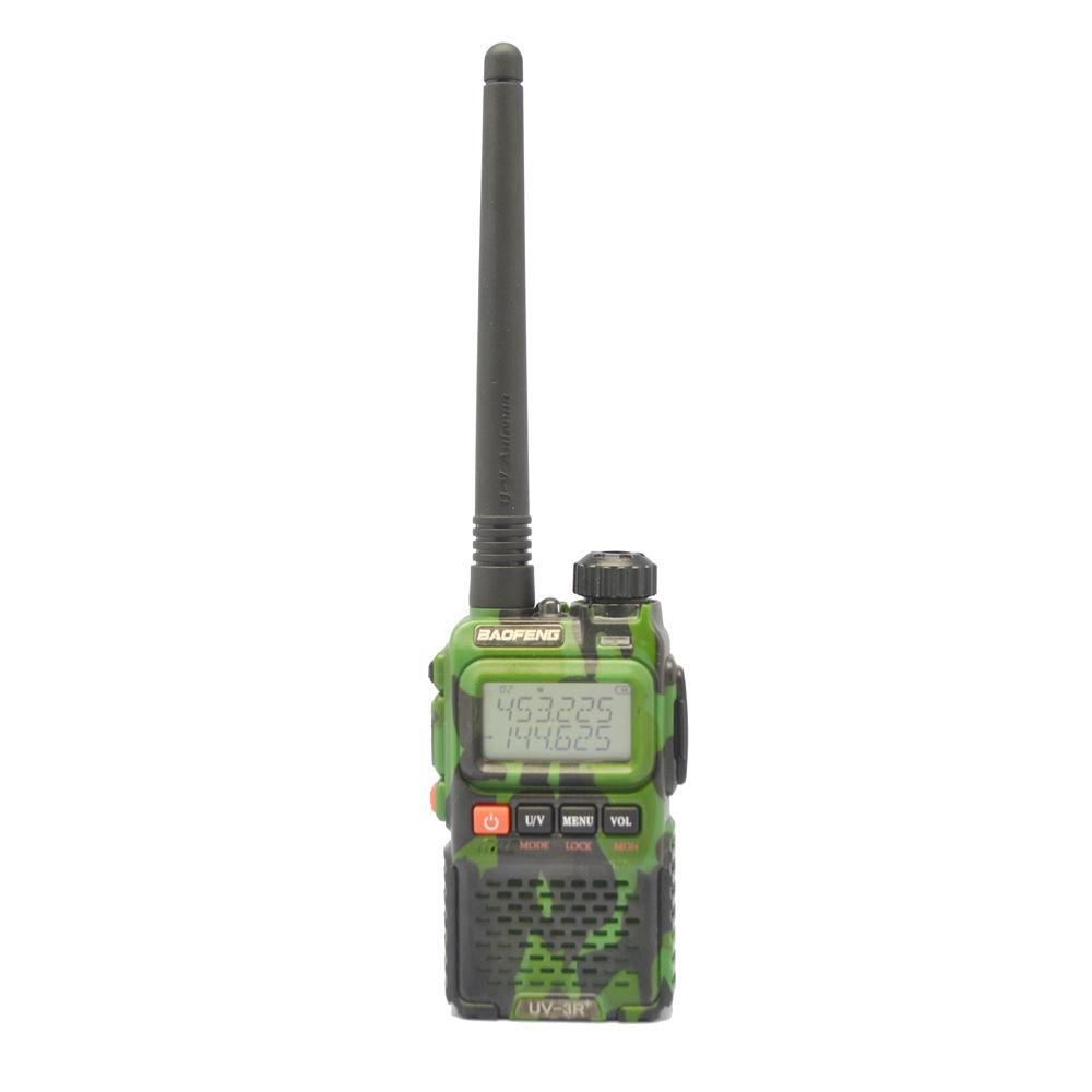 Baofeng UV-3R+ Plus camo green radio 136-174/400-470MHz Dual Band Walkie-Talkie baofeng 82 tyt th-uv3r+Free Earpeice(China (Mainland))