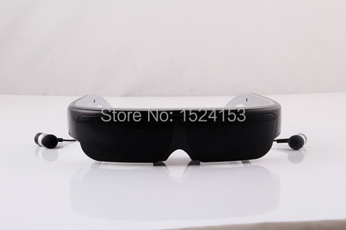 smallest portable 3D Android WIFI Video glasses with USB flash drive, card reader(China (Mainland))