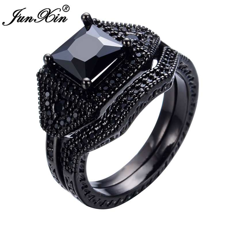 Buy junxin vintage black sapphire jewelry for Fashion valley jewelry stores