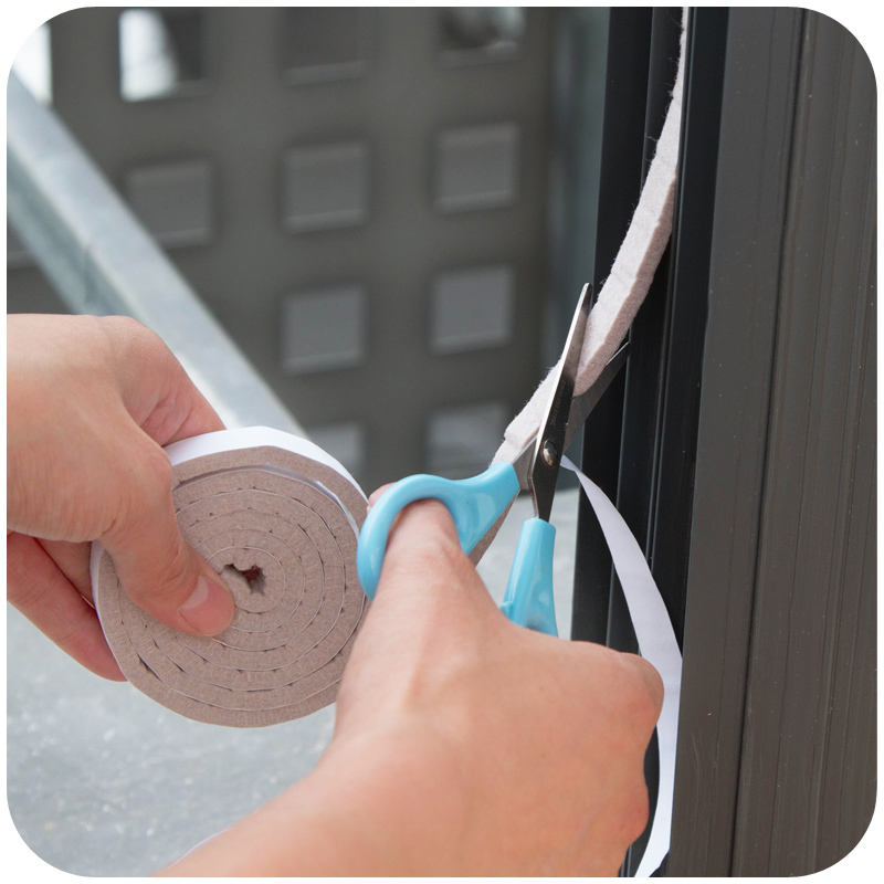 4 Pcs Window Seal Stickers Windproof Anti-Noise Windows And Doors Apertural Seal F2142(China (Mainland))