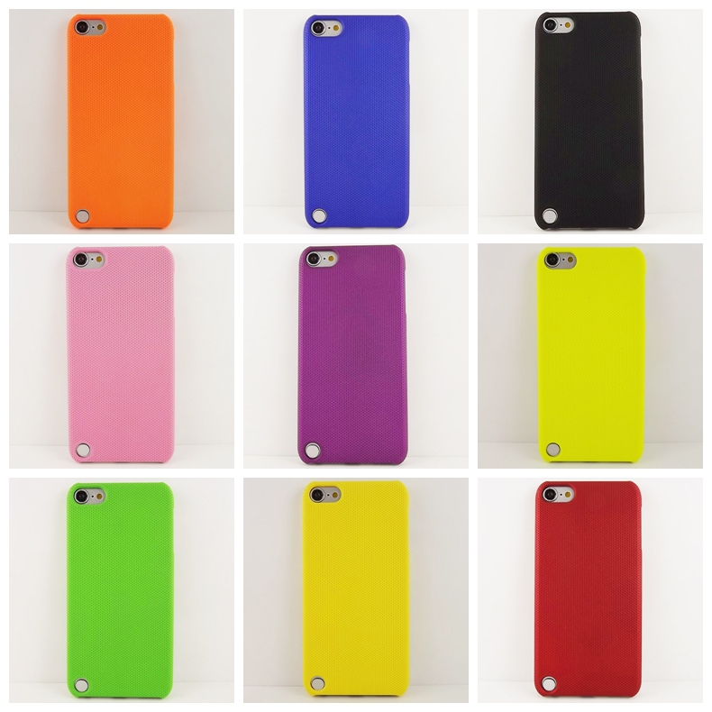 9 Colors New Design Mesh Net Hard Phone Case Cover for IPod Touch 5 Case for touch 5 cover case(China (Mainland))