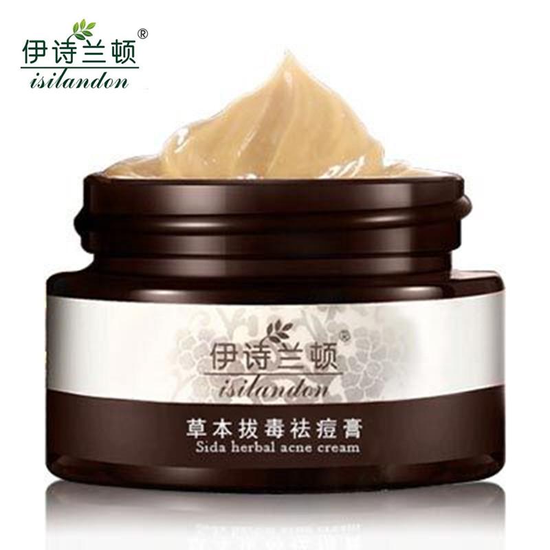 ISILANDON Blackhead Remover Face Cream Skin Care Acne Scars Acne Treatment Black Head Mite Face Care Whitening Cream Scar Repair(China (Mainland))