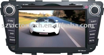 """6.2"""" special car DVD GPS with Bluetooth digital touch screen for Hyundai Verna"""