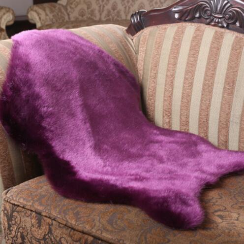 en peau de mouton coussin couverture promotion achetez des en peau de mouton coussin couverture. Black Bedroom Furniture Sets. Home Design Ideas