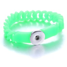 クリエイティブパパサークルスナップブレスレットホット販売レンディスナップボタンブレスレット腕輪フィット 18 ミリメートルスナップジュエリー楽しいギフ(China)