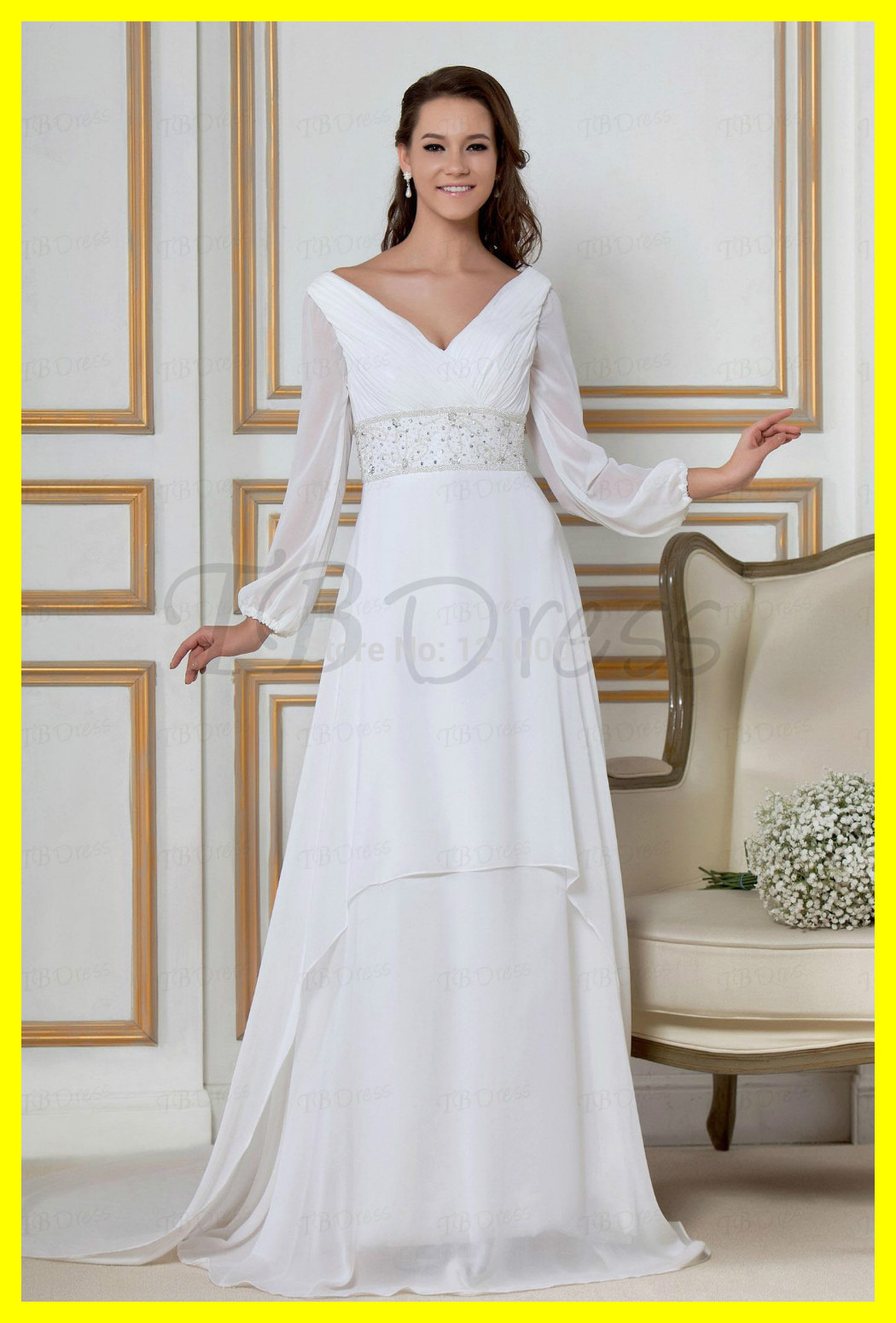 Wedding Dresses Lds Plus Size Casual Blue Silk A Line
