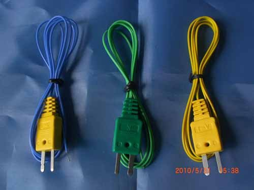 Thermocouple Extension Cables with Molded Connectors, quick connector, mini size(China (Mainland))