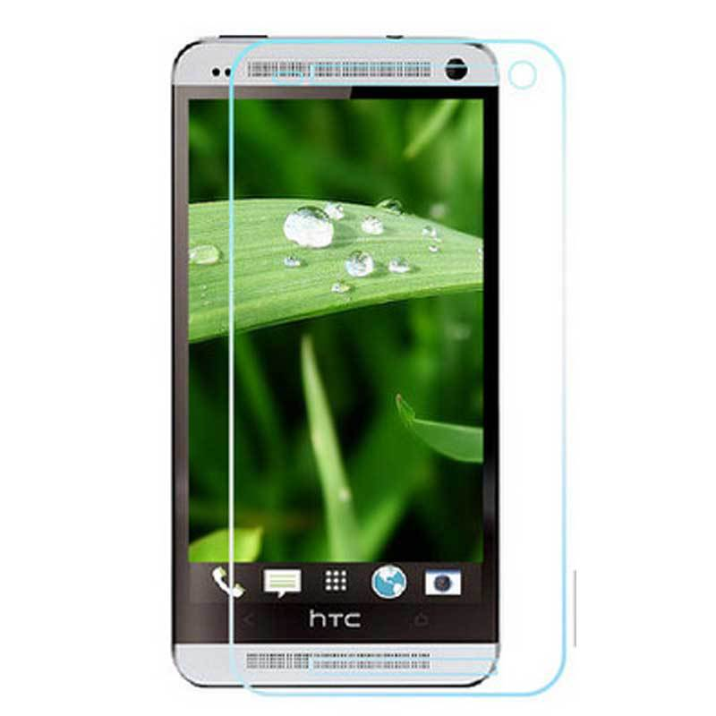 0.26mm tempered glass screen protector film M7 applies For HTC ONE M7 802D 802T 802w steel explosion-proof membrane(China (Mainland))