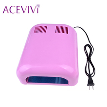 Hot sale UV Lamp 110V 36W LED Nail Dryer Curing Lamp Machine for Nail Polish Gel Art Tool Acrylic Timer Light Manicure Dryer $k(China (Mainland))