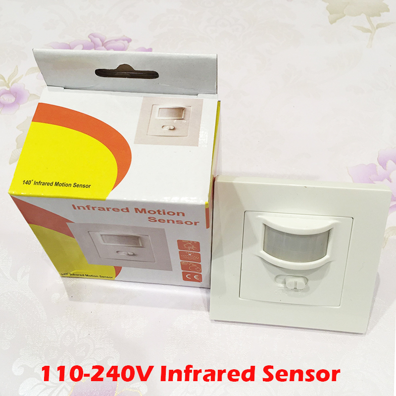 140 Degree 9M Automatic Adjustable Security Infrared Motion Sensor Switch 110V-220V PIR Detector Wall Mount Light Lamp YY(China (Mainland))