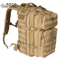 ROCOTACTICAL Military Rucksack Molle Assault Backpack 34L Army Patrol Double Shoulder Backpack 3P Attack Backpack TAN