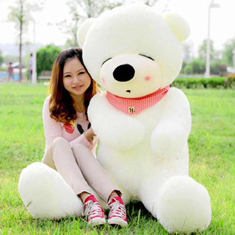 Free shipping Manufacturer Of Plush Toys Tactic Bear 1.6 Meters Large Doll Wedding Gift Wholesale(China (Mainland))