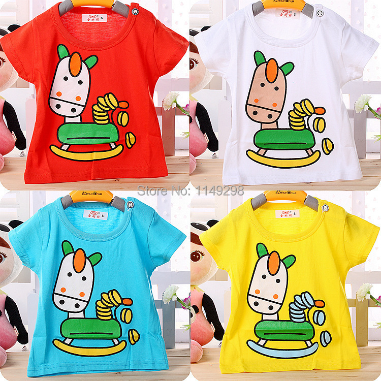 FreeShipping Retail sale baby clothing with S/M/L/XL 4 size baby boys girls baby cotton clothing set, 2pcs/lot baby clothing set(China (Mainland))