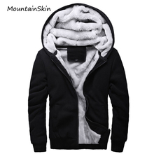 Buy Mountainskin New Winter Men's Jacket Fashion Soft Thick Coat Casual Warm Hoodies Thermal Hooded Men Jackets Brand Clothing LA077 for $22.00 in AliExpress store