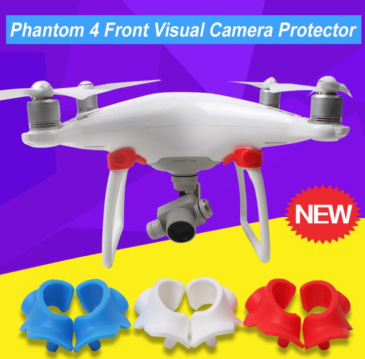 DJI Phantom 4 Front Visual System Camera Cover Eyes Protector Dustproof Dampproof Moistureproof Cap Phantom4 Accessories