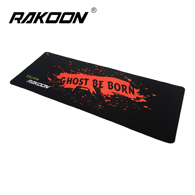 Zimoon Store Large Gaming Mouse Pad Locking Edge Speed Version 30*80 CM Game Mouse Mat Desk Pad For Lol Dota 2 CS Go(China (Mainland))