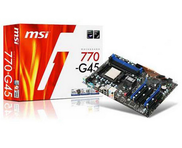 (Used) 770-G45 770 computer motherboards, socket AM3 DDR3 memory, solid-state to open its nuclear ATX(China (Mainland))