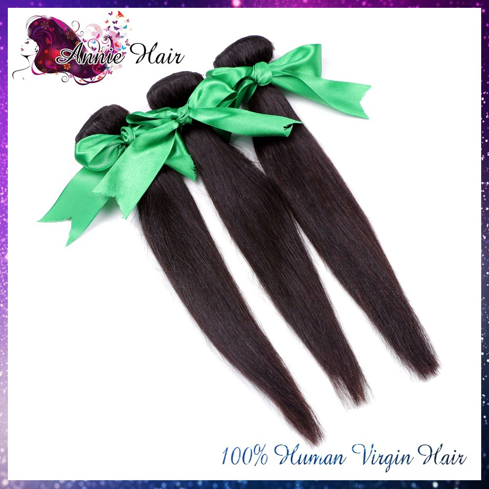 7A Virgin Hair Weave Filipino Virgin Hair Straight Cheap Unprocessed Hair Bundles 3pcs/lot Virgin Filipino Human Hair Extension