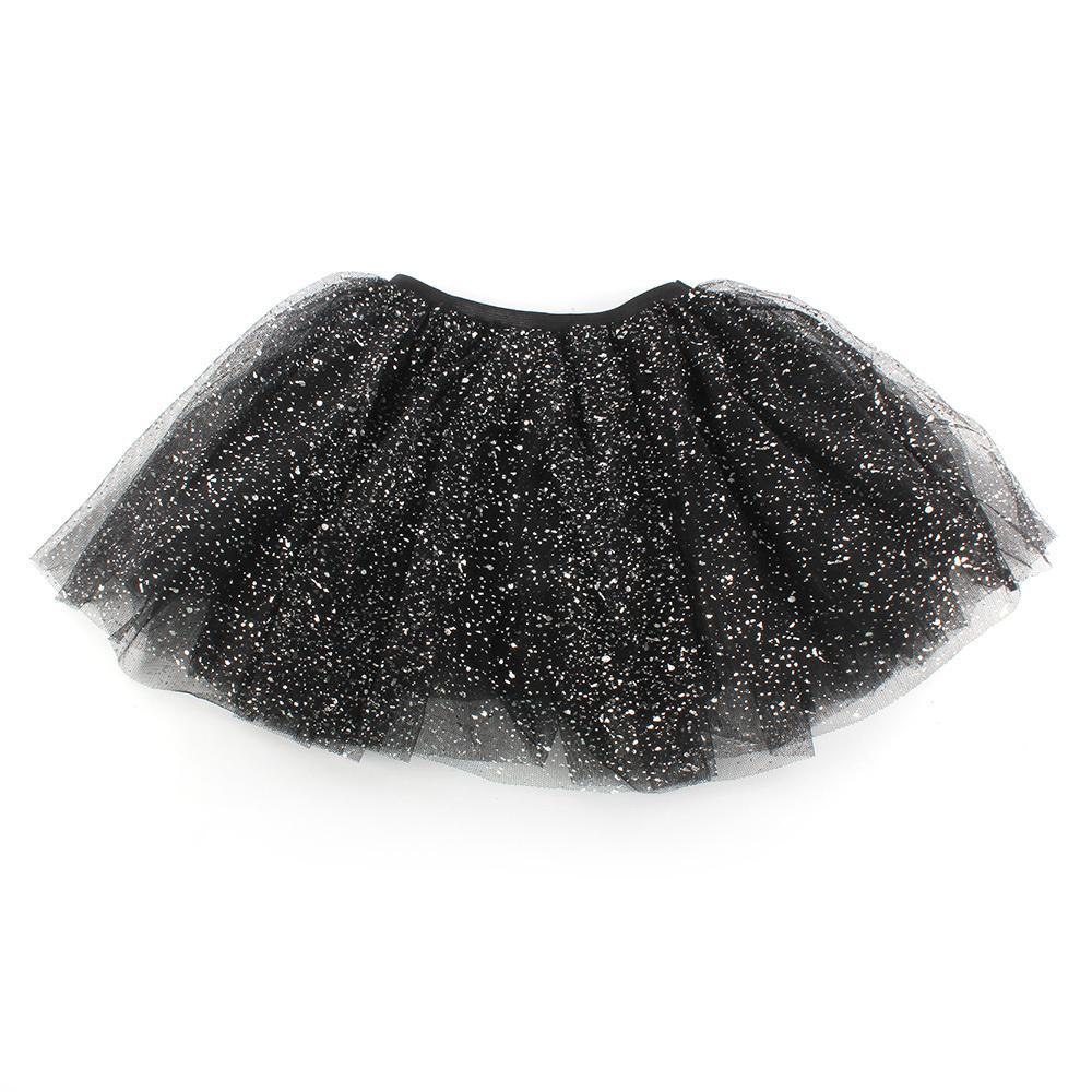 Lovely Kids Girls Princess Short Tutu Skirt Bling Tulle Party Ballet Dance