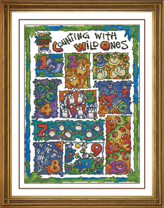X.X.FISH Cross Stitch,A511[animal alphabet digital meter collage]cotton,soluble,100% accurate pattern,11CT,Need to embroidery(China (Mainland))