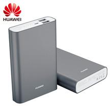 Huawei 100% Original 5V 2A 13000mAh Power Bank for Smartphone Portable Silver Grey High Quality Emergency Battery Backup Power