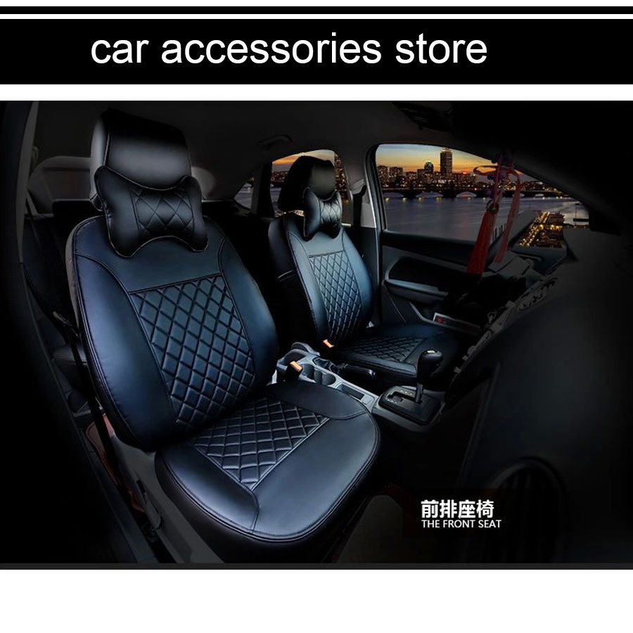 free shipping pu leather car seat cushion seat cover for honda hrv hr v vezel 2014 2015 2016 in. Black Bedroom Furniture Sets. Home Design Ideas