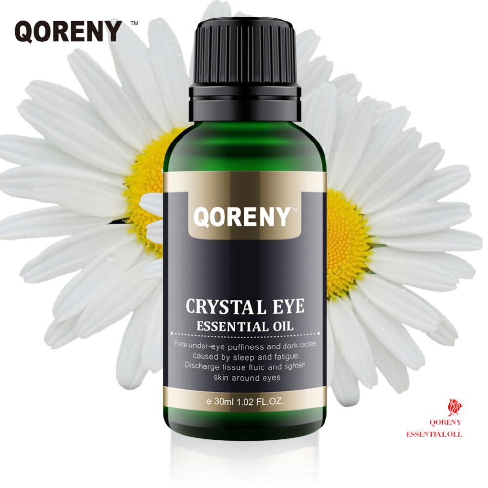 QORENY 100% pure naturals Crystal Eye Essential Oil remove dark circles anti wrinkles Skin Care Eye Serum Repairs Under Eye Bag(China (Mainland))