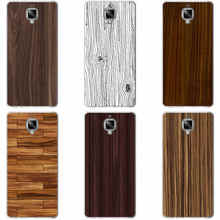 179GH Wood Grain Hard Transparent Cover Case Oneplus 3 3T - MZSLQS Store store