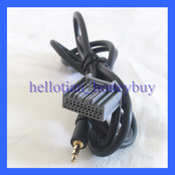 Car Stereo Cable Media Audio AUX IN Cable For Honda Civic CRV Accord USA United States Freeshipping(China (Mainland))