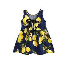 Mới nhất Phong Cách Mùa Hè Bé Kid Bông Vest Công Chúa Cô Gái Ăn Mặc Trẻ Sơ Sinh Trẻ Sơ Sinh Sundress Quần Áo Dễ Thương Hoa Vestidos hot(China)