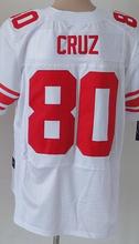 Cheap Men's 100% Stitched Elite#10 Eli Manning #13 Odell Beckham Jr jersey #80 Victor Cruz #90 Jason Pierre-Paul Jerseys(China (Mainland))