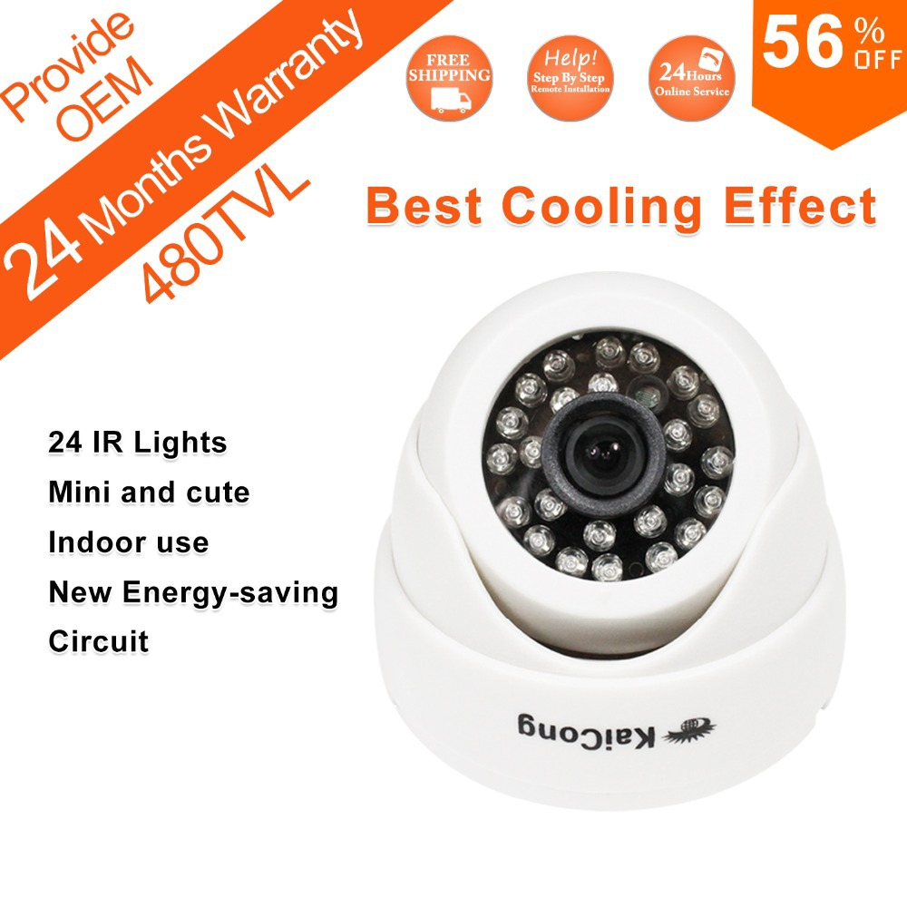 Free Shipping CCTV Camera HD Infrared Surveillance Camera Security Dome Camera KaiCong S620g Fast Delivery PALNtsc Oem Supported(China (Mainland))
