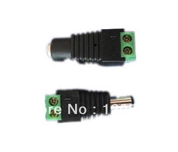 led strip connector, DC male to DC female