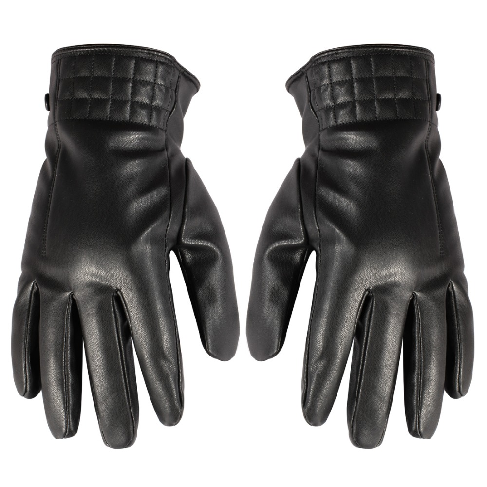 Good quality leather work gloves - High Quality Outdoor 100 Genuine Leather Black Full Finger Glove Daily Use Work Gloves Best