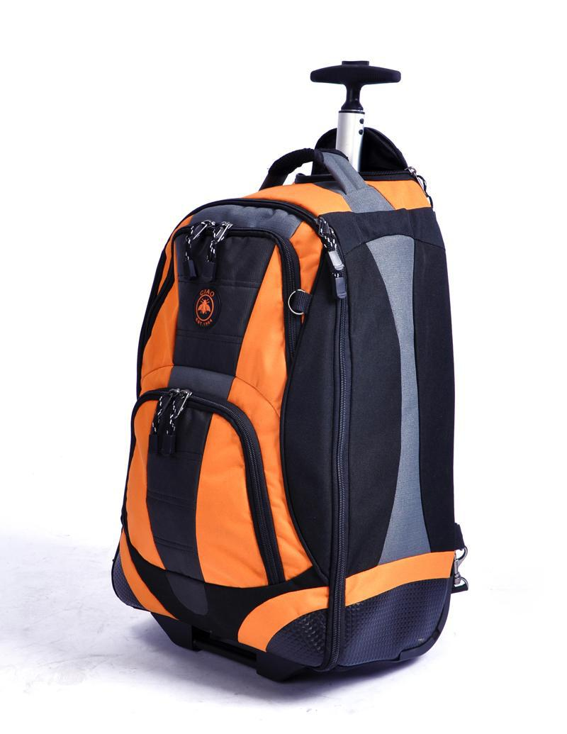 """Outdoor sport utility trolley backpack, mute roller suitcases, 22"""" inches boarding luggage bags ,Free shopping(China (Mainland))"""