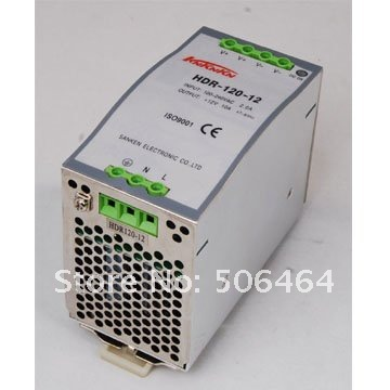 120W HDR-120 48V Din rail switching power supply