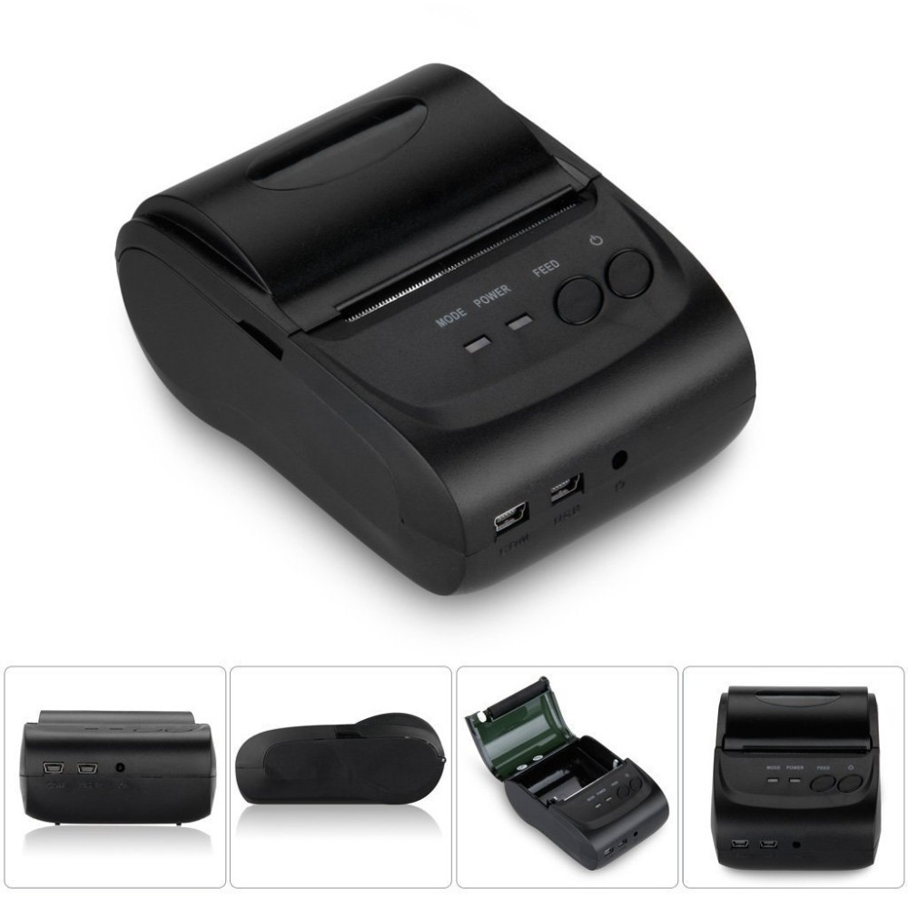 10PCS Mini Bluetooth Wireless Android 4.2. 58mm Thermal Receipt Printer Portable Mobile Printer with Free SDK <br><br>Aliexpress