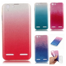 Buy Lenovo Vibe K5 K5 5.0 3D Rainbow Bling Case Gradient Glitter Luxury Silicone TPU Soft Back Cover Lenovo K5 Plus Funda Coque for $1.19 in AliExpress store