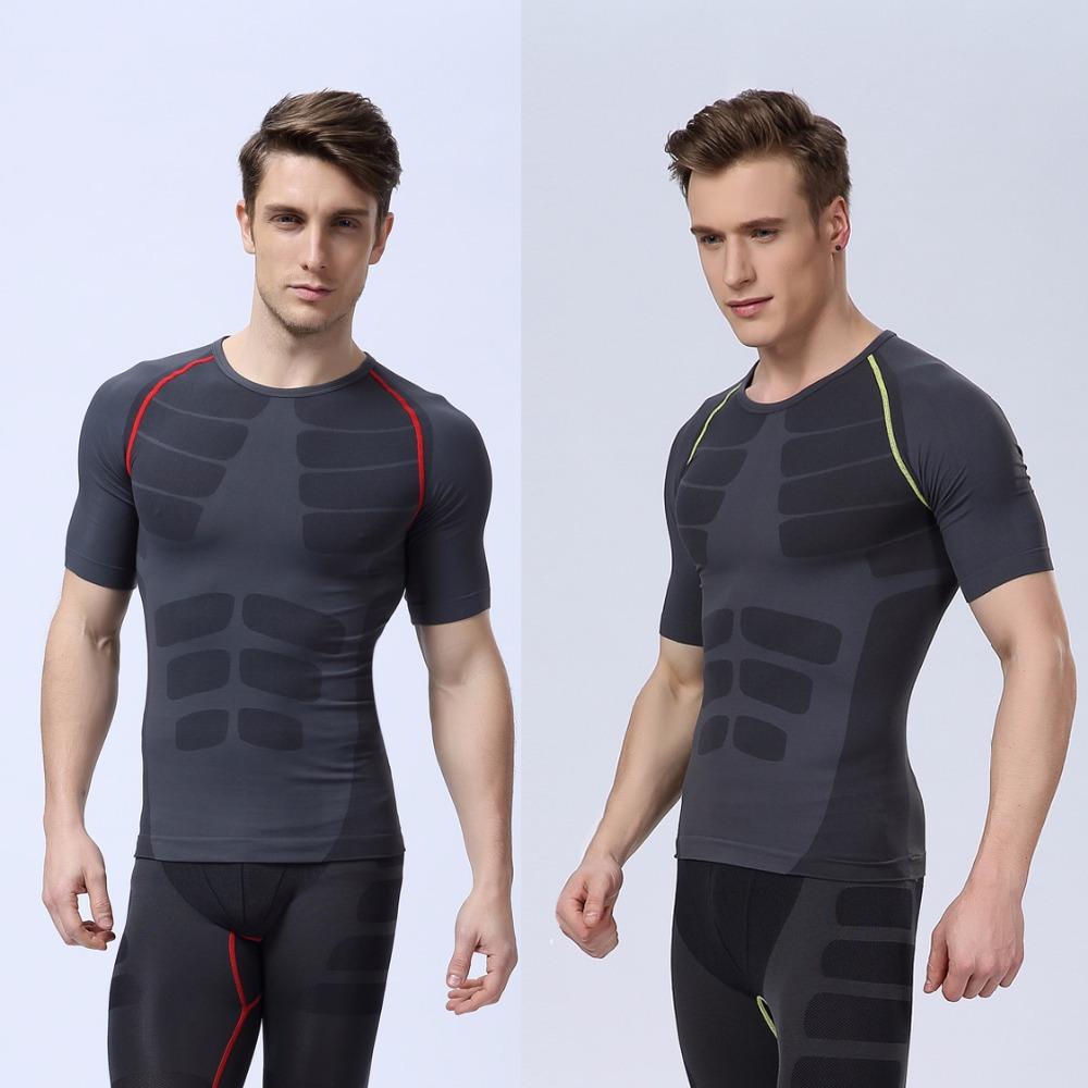 2015 New Arrival Running Pants Men Stripe Designer Bodybuilding Fitness Compression Elastic Sports Pants Men s