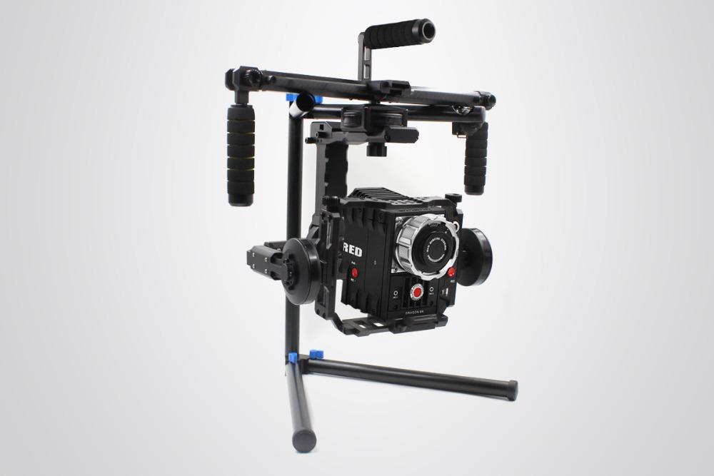 Free Shipping DYS FUNN Plug &amp; Play gimbal RED BMCC 5D3 DSLR 3-axis Brushless handheld Gimbal with 32bits controller and Joystick<br><br>Aliexpress