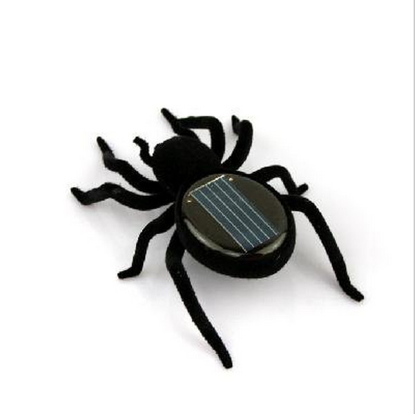New Toys Arrival!!! Mini Solar Spider Educational Solar powered Spider Robot Toy Children Gadget Gift(China (Mainland))