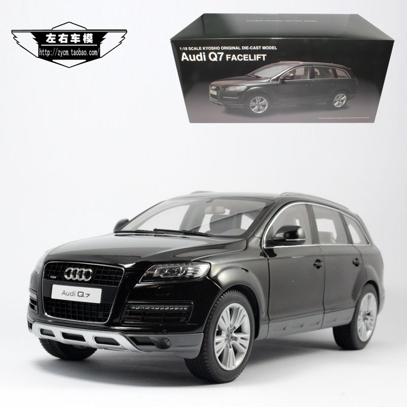 Hot style of Beijing shang kyosho 1:18 AUDI Q7 SUV AUDI SUV model alloy car<br><br>Aliexpress