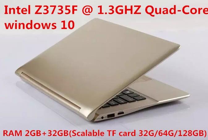 "2016 новый A116F 11.6 "" ноутбук intel Z3735F Quad 2 ГБ памяти 32 ГБ ноутбук с веб-камерой Wifi USB 3.0 служба OEM DHL"