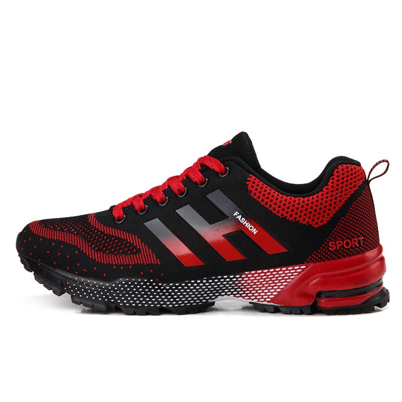 2016 Men Running Shoes Shockproof Zapatos Running Mujer Blue/Red Run Men Zapatillas Air Top Running Shoes Summer Mens Trainers(China (Mainland))