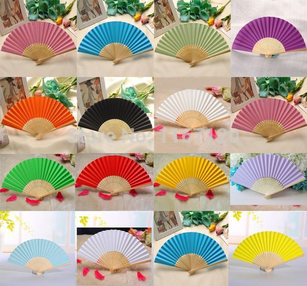 Free Shipping,30pcs/lot New Arrived Folding Elegant Paper Hand Fan Wedding&Party Decoration Favors 21cm(LS02)(China (Mainland))
